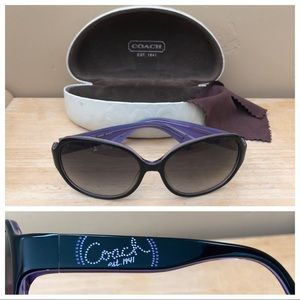 Coach Sunglasses S2030 Black